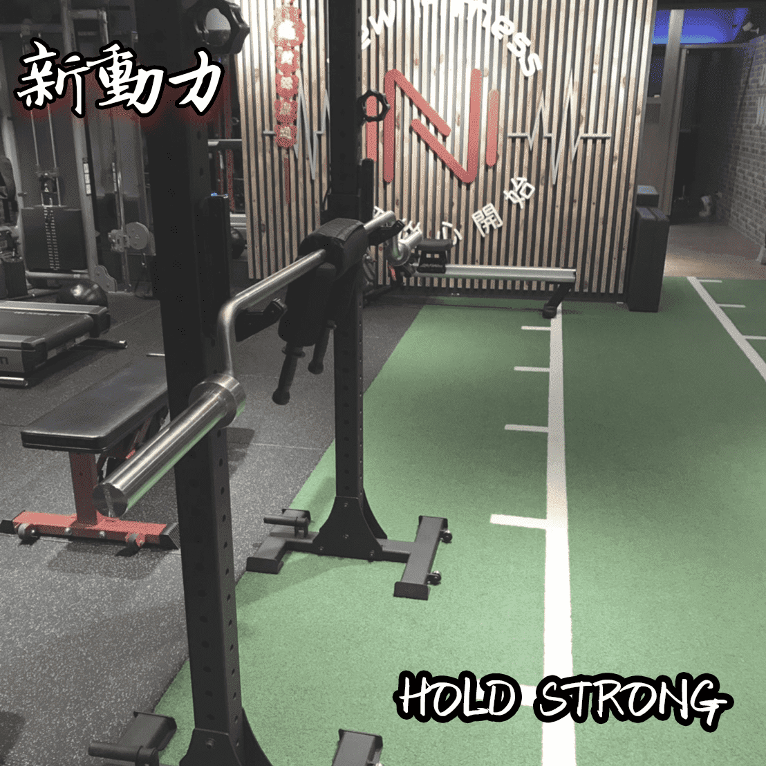 New Fitness 新動力-HOLD STRONG